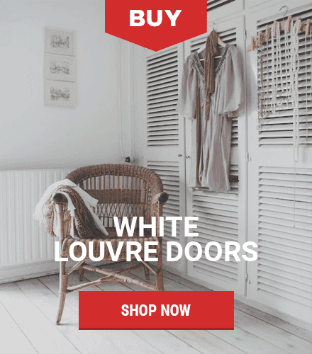 Our White Louvre Doors - Louvre Doors