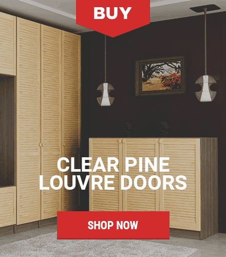 Our Pine Louvre Doors - Louvre Doors