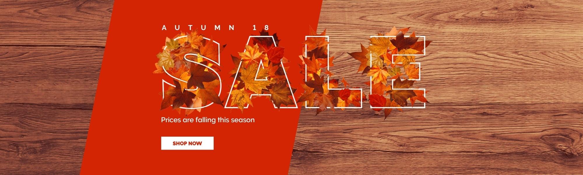 Autumn 18 Sale