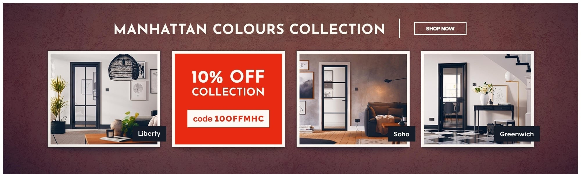 10% OFF Manhattan Colours Collection