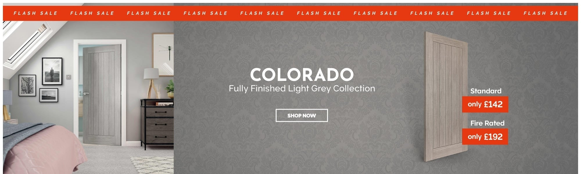 SALE Fully Finished Light Grey Colorado