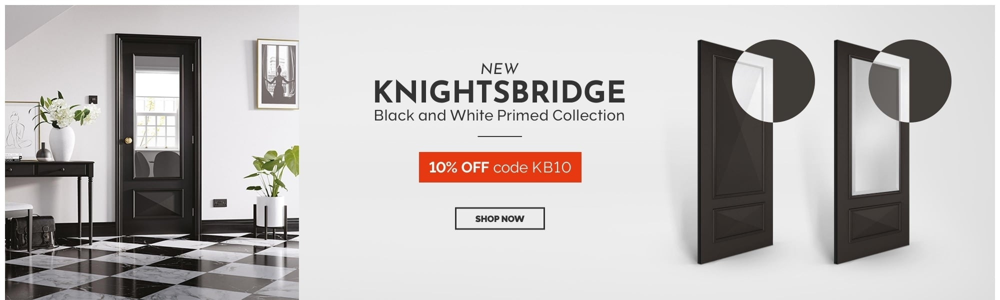 10% OFF Knightsbridge doors
