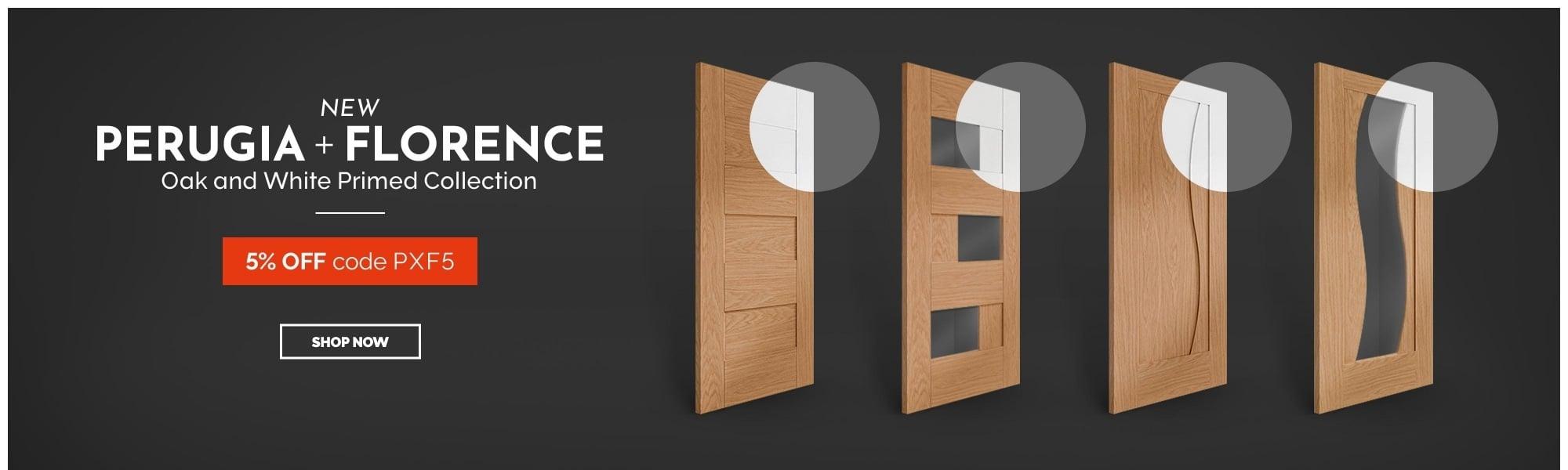 5% OFF Perugia & Florence doors