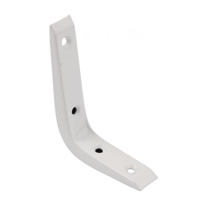 Dale Hardware Newtech 250mm White Reinforced Bracket