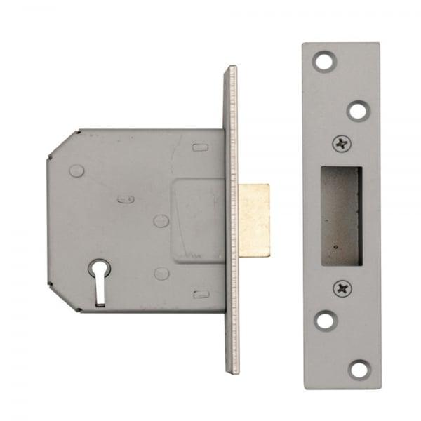 Dale Hardware 5 Lever Mortice Dead Lock Leader Doors