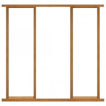XL Joinery Oak Effect Sidelight Frame Kit