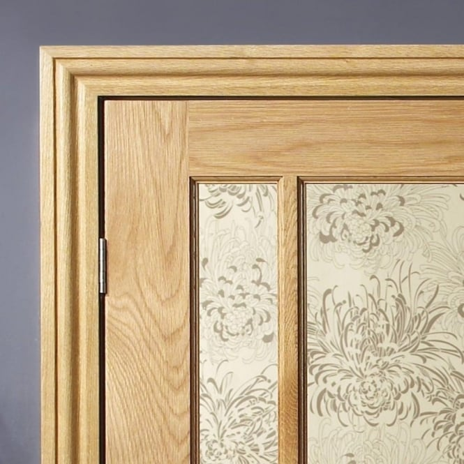 XL Joinery Oak Veneered Architrave Set with Ogee Profile