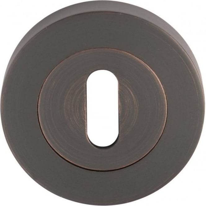 Dale Hardware Oil Rubbed Bronze Keyhole Escutcheon (Pair)