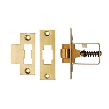 Polished Brass Heavy Duty Adjustable Roller Catch (DH002228)