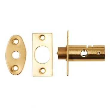 Polished Brass Mortice Window Bolt