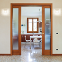 "Double Sliding Cavity Door System - 2x 1981x610(78""x24"")- 100mm"