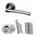 Premium Chrome Falcon PCP/SCP Bathroom Handle Pack