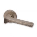 Moderna Pearl Nickel Lever On Round Rose