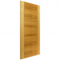 Internal Oak Fully Finished Contemporary Mistral FD30 Fire Door (OMISFD30) - 1981x686x44mm (78''x27'')