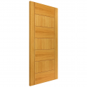 Internal Oak Fully Finished Sirocco FD30 Fire Door - 1981x686x44mm (78''x27'')