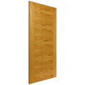 Internal Oak Fully Finished Contemporary Ostria Door - 1981x610x35mm (78''x24'')