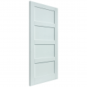 Internal White Primed Montserrat FD30 Fire Door - 1981x686x44mm (78''x27'')