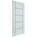 Internal Fully Finished White Eco Linea FD30 Fire Door - 1981x686x45mm (78''x27'')