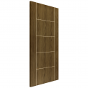 Internal Soft Walnut Fully Finished Mocha FD30 Fire Door - 1981x686x45mm (78''x27'')