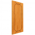 Internal Oak Fully Finished Agua FD30 Fire Door - 1981x838x44mm (78''x33'')