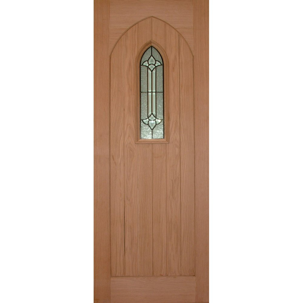 wooddoor external oak westminster triple glazed door