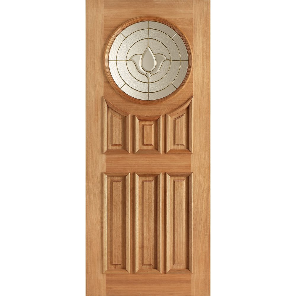 Hardwood adoorable sandown double glazed door at leader doors for Hardwood entrance doors