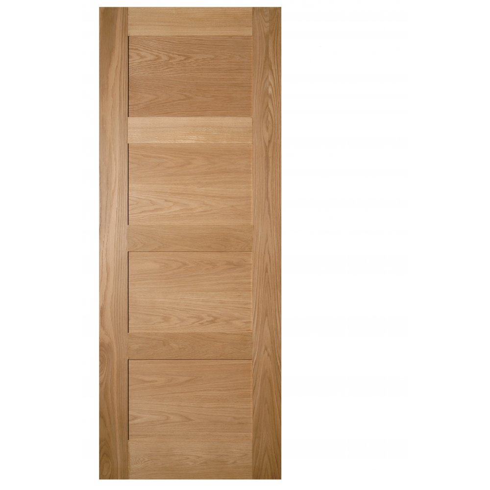 Coventry Oak Un Finished Solid Door At Leader Doors
