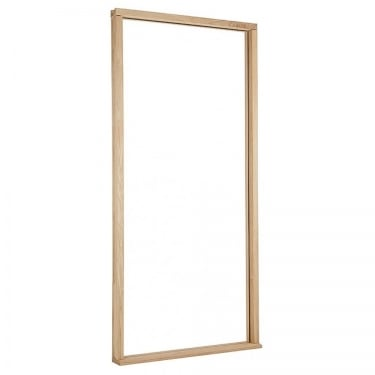 Reversible Un-finished Oak Door Frame & Cill