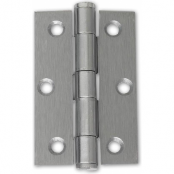Intelligent Hardware Satin Chrome 75mm Button Tipped Hinge