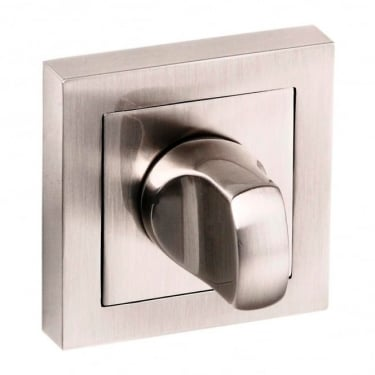 Senza Pari WC Turn and Release On Square Rose - Satin Nickel (SPCWCSN)