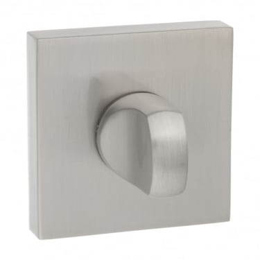 Senza Pari WC Turn and Release On Square Rose - Satin Nickel (SPWCSN)
