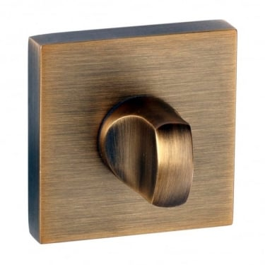 Senza Pari WC Turn and Release On Square Rose - Weathered Antique Bronze (SPWCWAB)
