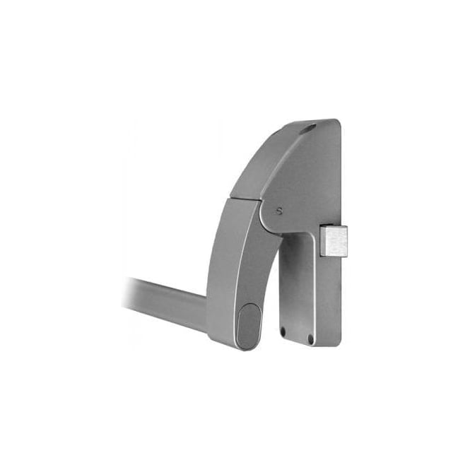 Dale Hardware Silver Reversible Left Panic Latch