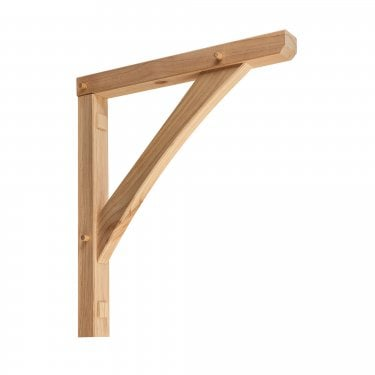 Single Gallows Pine Porch Bracket (CP300)