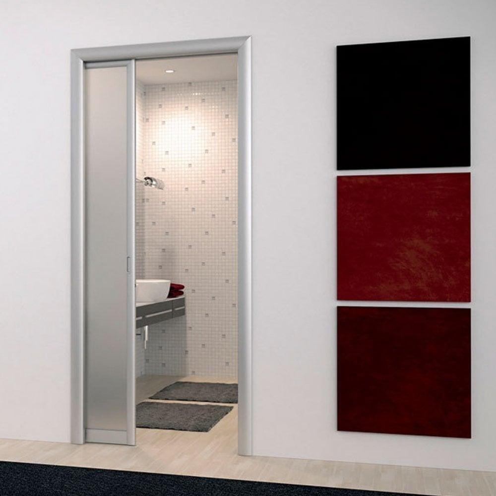 Sliding Fire Doors : Eclisse sliding single cavity fire door system leader doors