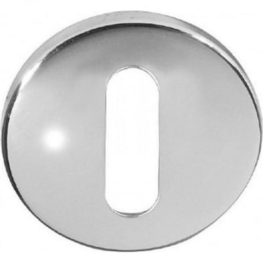 Standard Polished Stainless Steel Round Key Escutcheon (JPS03)