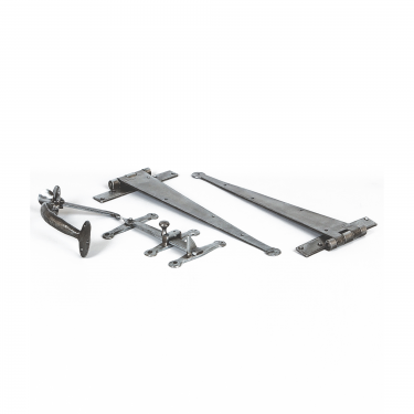 Suffolk Pewter Door Hardware Kit (PEWTERSET1)