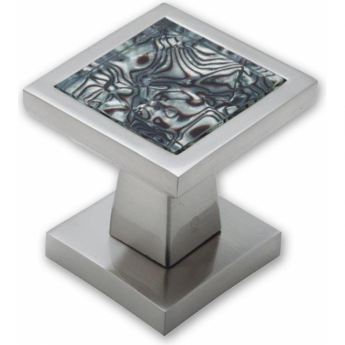 Intelligent Hardware Tigrata PN/BLK Square Mortice Knob