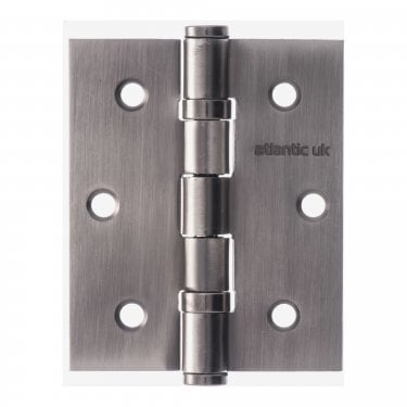 Universal 76mm (3'') Ball Bearing Hinge Pair - Matt Gun Metal (A2HB32525MBN)