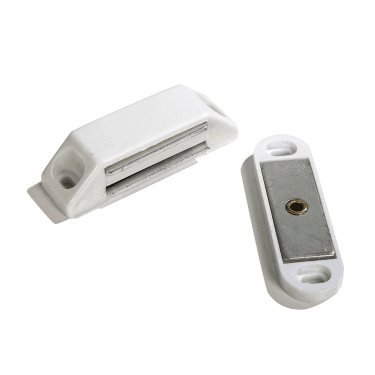 White Heavy Duty Magnetic Catch (DH002227)