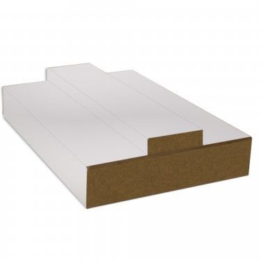 White Primed Universal Door Lining Set (DFPGRS133)