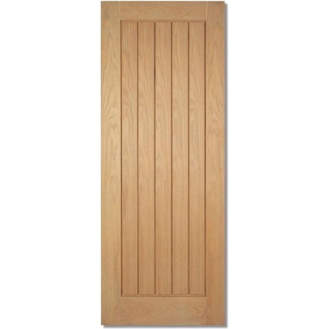 WoodDoor Alnwick Oak Pre Finished Door Leader Doors