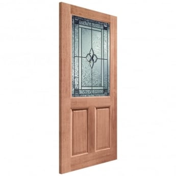 XL Joinery External Hardwood Un-finished 2XG Coleridge Double Glazed Door(MORTICE & TENON)