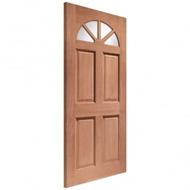 External Hardwood Un-finished Carolina Unglazed Door(DOWELLED)