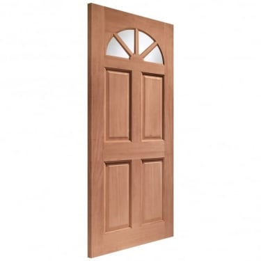 External Hardwood Un-finished Carolina Unglazed Door(MORTICE & TENON)