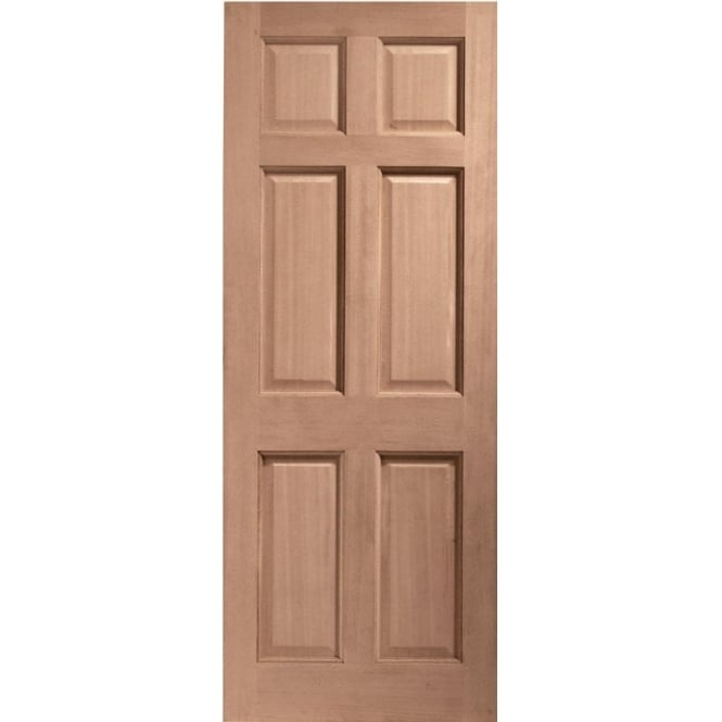 XL Joinery External Hardwood Un-finished Colonial 6 Panel Door(MORTICE & TENON)