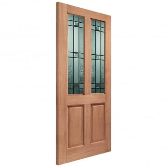 XL Joinery External Hardwood Un-finished Malton Drydon Double Glazed Door(MORTICE & TENON)