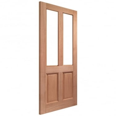 External Hardwood Un-finished Malton Unglazed Door(MORTICE & TENON)