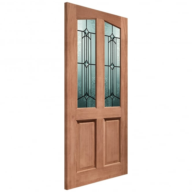 XL Joinery External Hardwood Un-finished Richmond Donne Double Glazed DoorDOWELLED