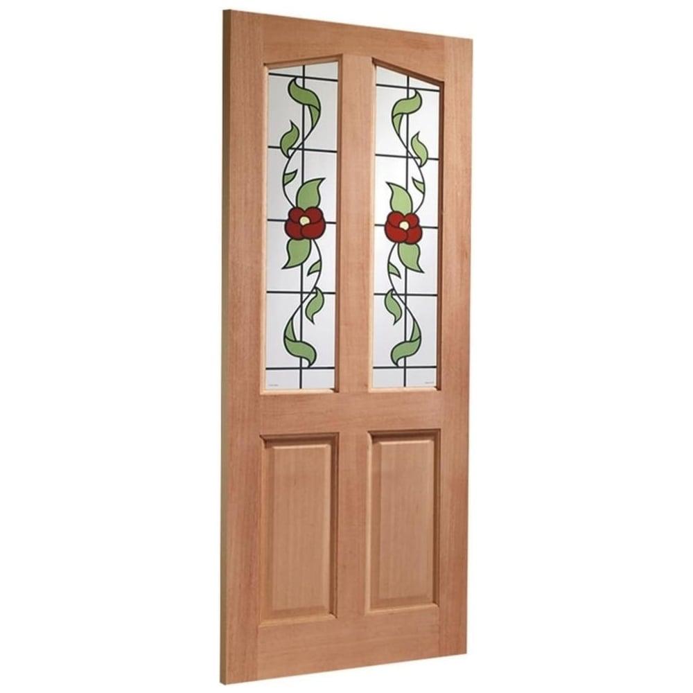 External Hardwood Unfinished Richmond 2L Door with Keats Glass (Mortice u0026&; ...  sc 1 st  Leader Doors & XL Joinery External Hardwood Unfinished Richmond Glazed Door ...